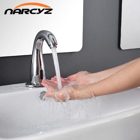 Sensor faucet bathroom