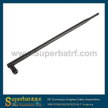 Superbat 2.4GHz 12dBi Omnidirectional WiFi Antenna Rubber Duck Aerial Booster with RP-SMA Male for IEEE 802.11b Wireless LANs