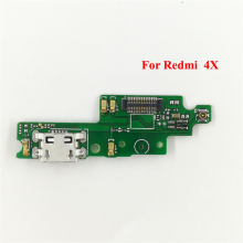 For Xiaomi Redmi 4X USB charging Port Board Flex Cable Repair Parts Mic Charging Plug Cell Phone Spare Parts(China)