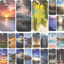 Charming Mountain Scenery Silicon Phone Shell Cover For Apple iPhone 6 Plus iPhone 6S Plus 5.5'' Case Cases 2017 Top Fashion New