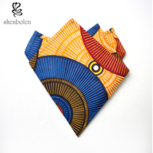 Shenbolen 2017 fashion pocket square african head scarf for women free package mail