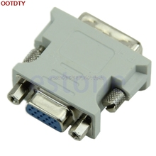 15 Pin VGA Female to DVI-D Male Adapter Converter LCD #H029#
