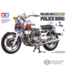 OrangeHobby Tamiya 14020 1/12 GSX750 PoliceOfficer Bike Scale Assembly Motorcycle Model Building Kits