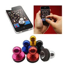 Best Selling 3pcs Touchscreen Game Stick Controller Game Rocker Joypad Joystick for Smartphone Ipad Tablet(China)