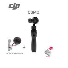 Freeshipping original DJI Osmo Handheld 4k camera with Microphone and 3-Axis Gimbal Aerial Photography brand new In stock