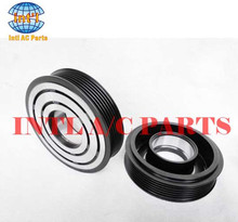 Air conditioning compressor magnetic clutch for CVC Vw Fox Chevrolet Celta opel Zafira 6pk 114mm 12V
