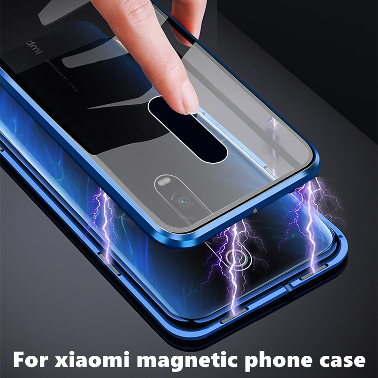 360 Full Magnetic Double Sided Glass Case For Cover Xiaomi Mi 9 SE K20 Pro Case Shockproof Back Cover For Xiaomi Mi9 K20pro Case