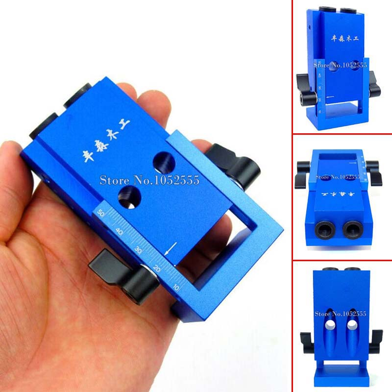 NEW 2PCS/lot Mini Kreg Style Pocket Hole Jig Kit System Wood Working &amp; Joinery with 3/8 inch 9.5mm Step Drill Bit &amp; Accessories<br><br>Aliexpress