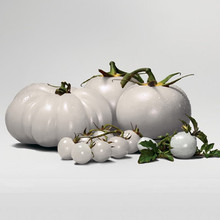 Rare WHITE Tomato Seeds Very Tasty Nutritive Heath Vegetables Seeds 120PCS Heirloom DIY home garden plants