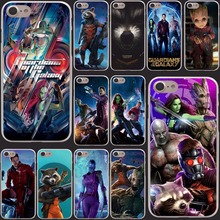 Guardians of the for Galaxy Marvel rocket groot phone Hard Clear Skin Case Cover for iPhone 7 7 Plus 6 6s Plus 5 5S SE 5C 4 4S