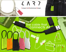 Singapore CARD TEC - Accessory CABLE SERIES KC5 Multi-purpose USB Charger for iPhone iPad Samsung USB Cable, Original!