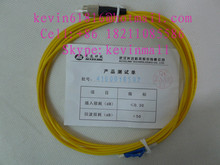 3 meters long fiber optical patch cord cables with LC-FC Connector, 2mm, single model single core