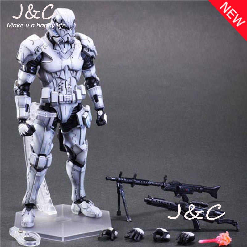 New SQUARE ENIX PA Play arts change Star Wars storm white soldiers 27cm PVC Action Figure Model Toys Gifts Collection<br>