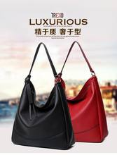 2016 Hot sale fashion luxury handbags women large capacity casual bag ladies pu leather office tote bags bolsos feminina