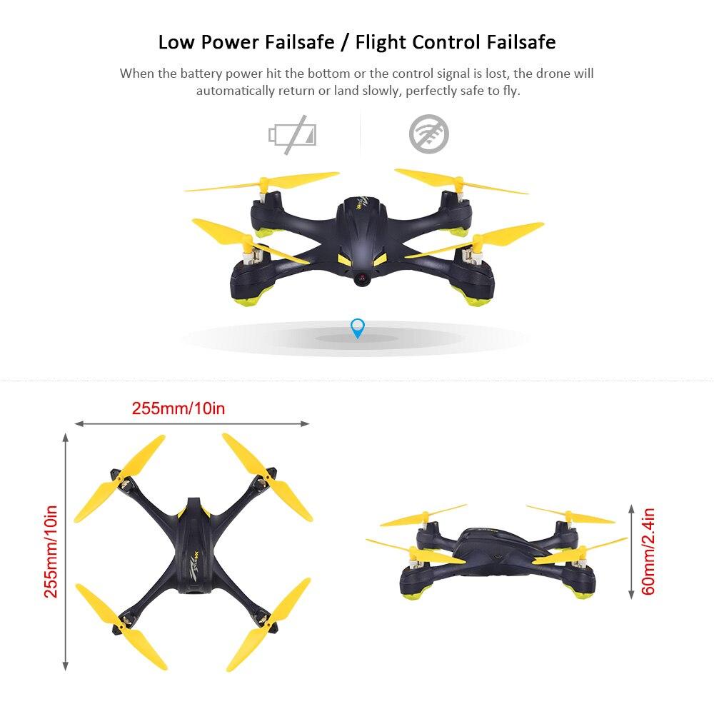 Hubsan X4 H507A Star Pro 720P Camera Drone Wifi FPV RC Quadcopter Follow Me Mode Way Point GPS One-Key Return RC Selfie Drone (23)