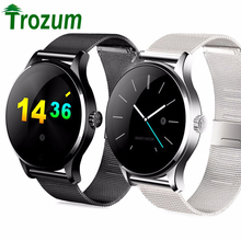 TROZUM  K88H Smart Watch Track Wristwatch MTK2502 Bluetooth Smartwatch Heart Rate Monitor Pedometer Dialing For Android IOS