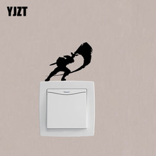 Video Game Legend Of Zelda Link Attack Fashion Light Switch Girl Room Home Decoration Sticker 7SS0886