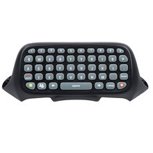 kebidu 2017 New Wireless Controller Text Messenger Keyboard QWERTY Chatpad Keypad for Xbox 360 Game Controller(China)