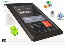 TS-7002 touch screen with printer portable nfc barcode reader 3g wifi bluetooth pos terminal