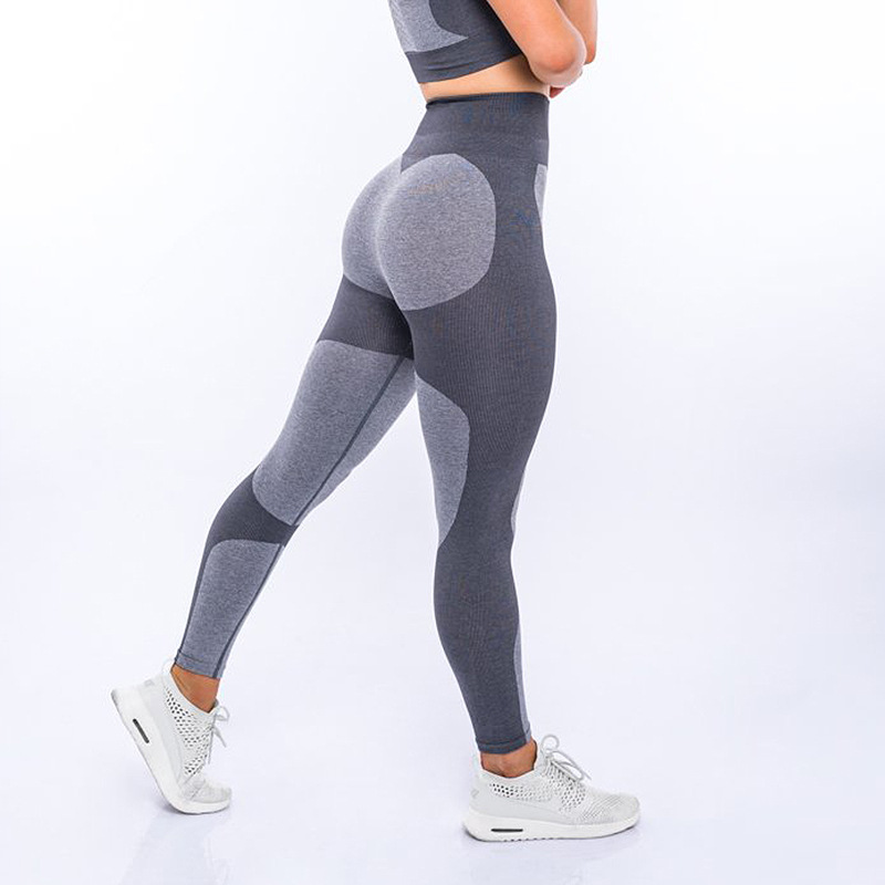 High waist tummy Women girls Push up Fitness Leggings Girl High Waist Yoga Pants