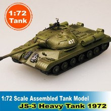 1:72 Scale Assembled Tank Model  JS-3 Heavy Tank 36247 Colored Finished Static Model Tank Collection Tank DIY