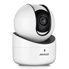 ANNKE 720P WiFi Pan/Tilt IP Network Security Camera IR Night Vision 2-Way Audio Motion Detected,Intelligent Alert,WDR,ROI,3D DNR