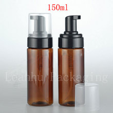 150ml X 12 empty foaming pump cosmetic bottle, 100 200 ml plastic foam bottles ,washing liquid soap pump foam container(China)