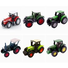 SIKU 0847/0858/0859/0861/1008/1009/1870 Farm Vehicles Tractor Truck Toys Pocket Car Model Gift For Children