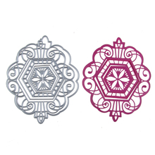 China Style Design Hot Flower Metal Scrapbook Craft Dies Scrapbooking Die 3D Stamp DIY Scrapbooking Card Making Photo Decoration(China)