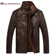 2016 leather jacket . men PU Leather .Jacket jaqueta de couro masculino casual leather jacket men(China)