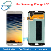 e-trust Mobile Phone Parts Alibaba China For Samsung Galaxy S7 edge G935 G935F G935A Lcd Display Touch Screen + Free Shipping(China)