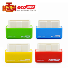 EcoOBD2 Nitroobd2 Diesel Car Chip Tuning Box Plug and Drive OBD2 Chip Tuning Box Lower Fuel and Lower Emission Free Shipping