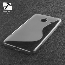 For Lumia 640 XL S Line TPU Silicone Rubber Soft Case For Microsoft Nokia Lumia 640XL Back Skin Cover Cell Phone Protective Bag