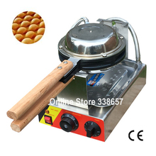 Best professional electric Chinese Hong Kong eggettes puff waffle iron maker machine bubble egg cake oven 220V/110V