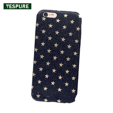 YESPURE Fancy Girl Cell Phone Bling Accessories Mobile Phone Bags for Iphone 6/6s Matte Silicone Soft Back Cover Fille(China)