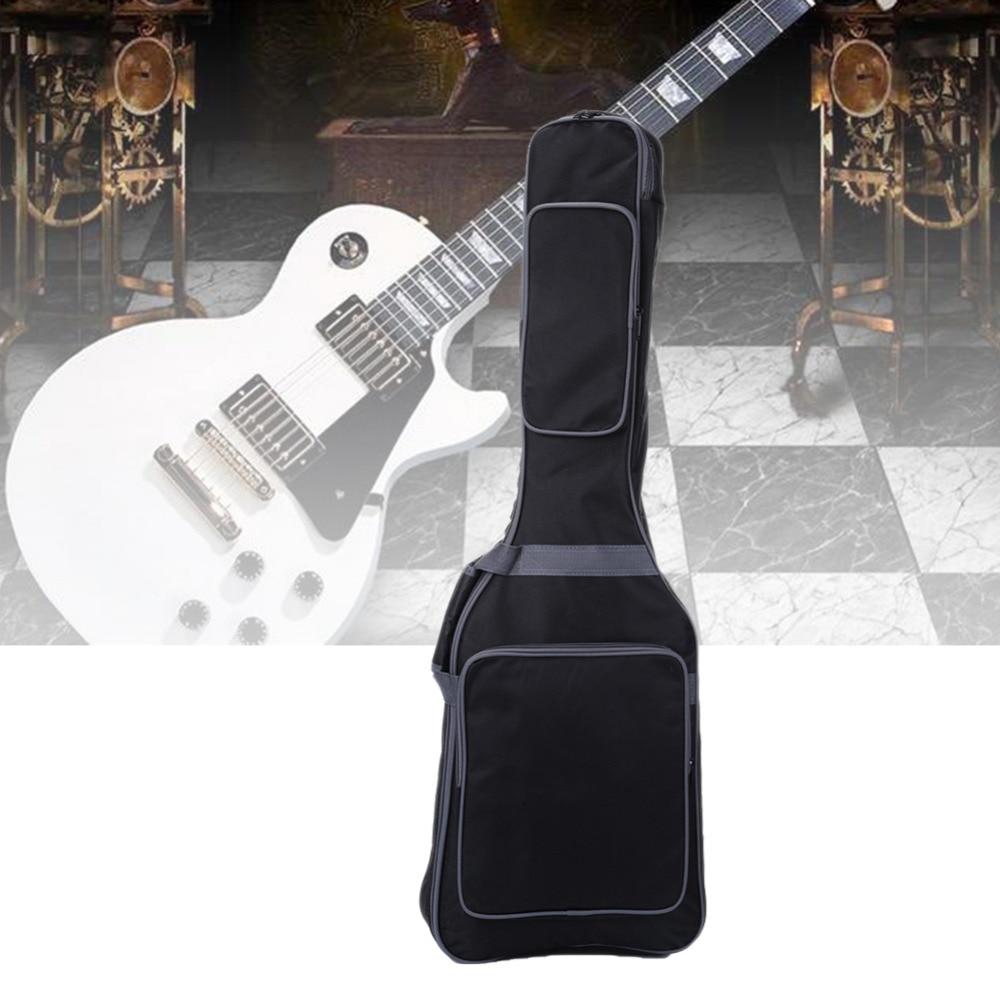 41 inch Genuine Guitar Bag Guitar Backpack Use Canvas Breathable Built-in velvet Waterproof Bag For Electric Guitar(no package)<br>