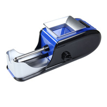 Electric Cigaret Rolling Injector Tobacco Roller Maker Machine Blue AC230V 50~60Hz 0.15A Electric Cigarette Rolling Machine