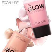 FOCALLURE Bright liquid highlighter Kit Make Up Moisturizing Concealer Brighten the Skin Color illuminator Makeup SMBO(China)