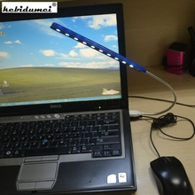 Mini USB Led Light Computer Lamp Bright Flexible 10 LEDs reading Lamp for Notebook Laptop Computer PC Keyboard lights