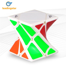 LeadingStar Twist Oblique Shape Smart Cube Diagonal Design Cube Intellectual Toy Twist Cube zk30(China)