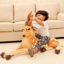 Deer Plush Stuffed Deer Toys Pelucia Brinquedos Large Birthday Gift Girlfriend Cute Simulation Animal Plush Toys Baby 70C0314