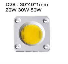200x D28 20W 30W 50W 110V 220V dimmable AC COB LED module driverless warm/cool white Ceramic substrate board lamp bulb