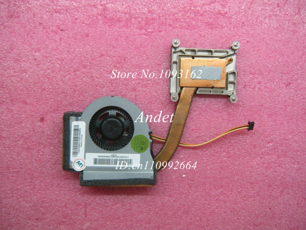 New Original for Lenovo Thinkpad T440P Integrated Thermal Heatsink Fan CPU Cooler Cooling 04X1853 00HM902 0C53563<br>