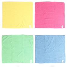 4pc/lot Valuable Anti-grease Dish Cloth Washing Towel Kitchen Cleaning Wiping Rags pano de prato Microfibres Cloth P10(China)