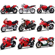 1:18 Maisto Motorcycle Model Kawasaki Ninja Honda Yamaha Ducati Metal & Alloy Motor Toy Car Miniature Toys For Children Gift