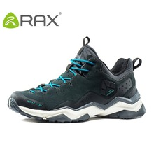 Rax Men's Waterproof Hiking Shoes Outdoor Sports Shoes Walking Cycling Trail Outventure Mountaineering Shoes for Men Women