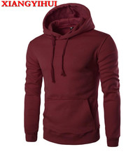2017 Cheap but good quality XIANGYIHUI New Hoodies Men Brand Designer Mens Sweatshirt Men with Luxury Sweatshirt Men Brand 9020