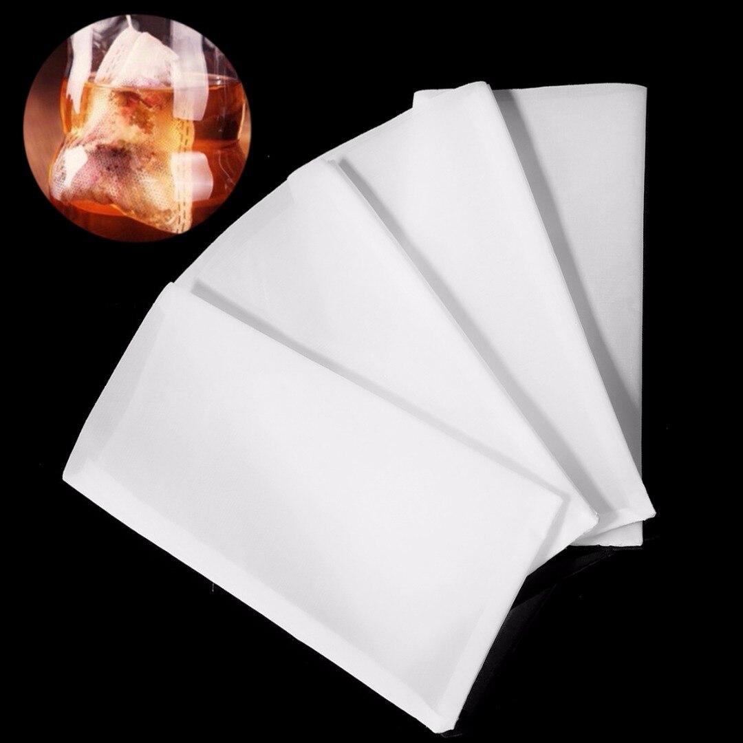 50pcs Reusable 120 Micron Rosin Tech Screen Bags Press Filter Tea Bags 6.2x11.3cm