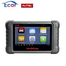 Latest AUTEL MaxiDAS DS808 (With Conkit) full set Handheld Touch Screen Autel Diagnostic Tools Update Online