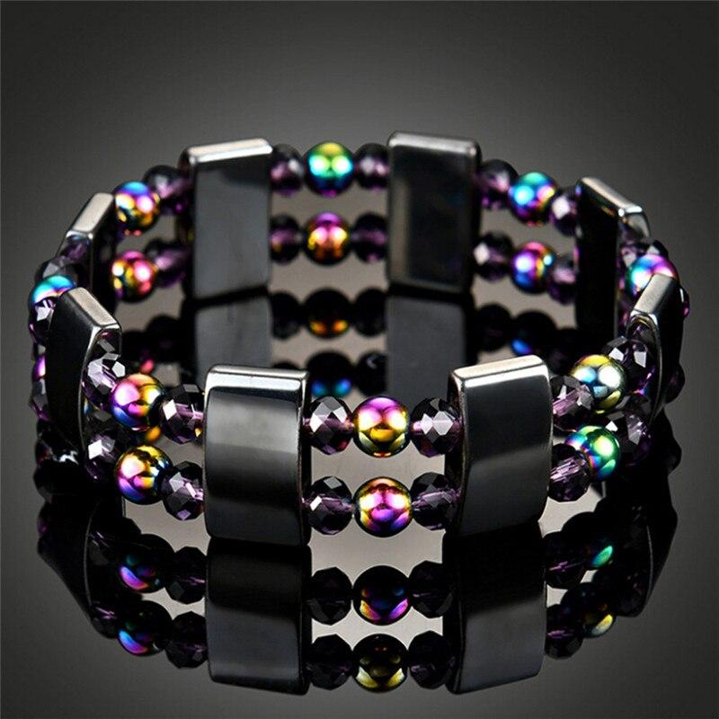 Crystal MALACHITE Bracelet Perles de guérison pour les Femmes Amincissant Corps Produit Bangle